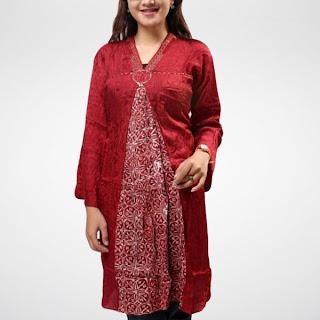 baju batik modern gaul