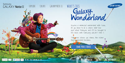 samsung galaxy wonderland