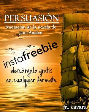 Reclama tu copia por el aniversario de Persuasión: GRATIS con Instafreebie