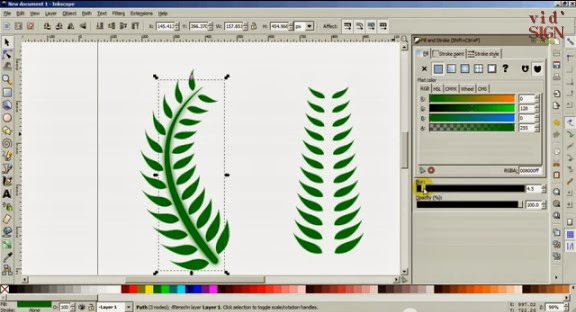 How To Learn Interpolate and Pattern Along Path Using Inkscape