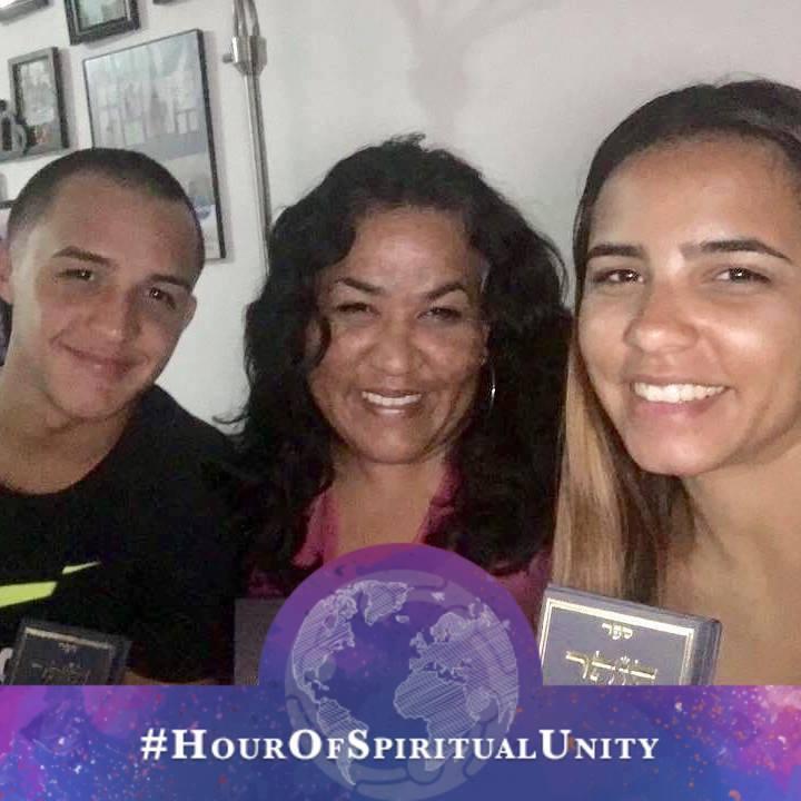 #HourOfSpiritualUnity