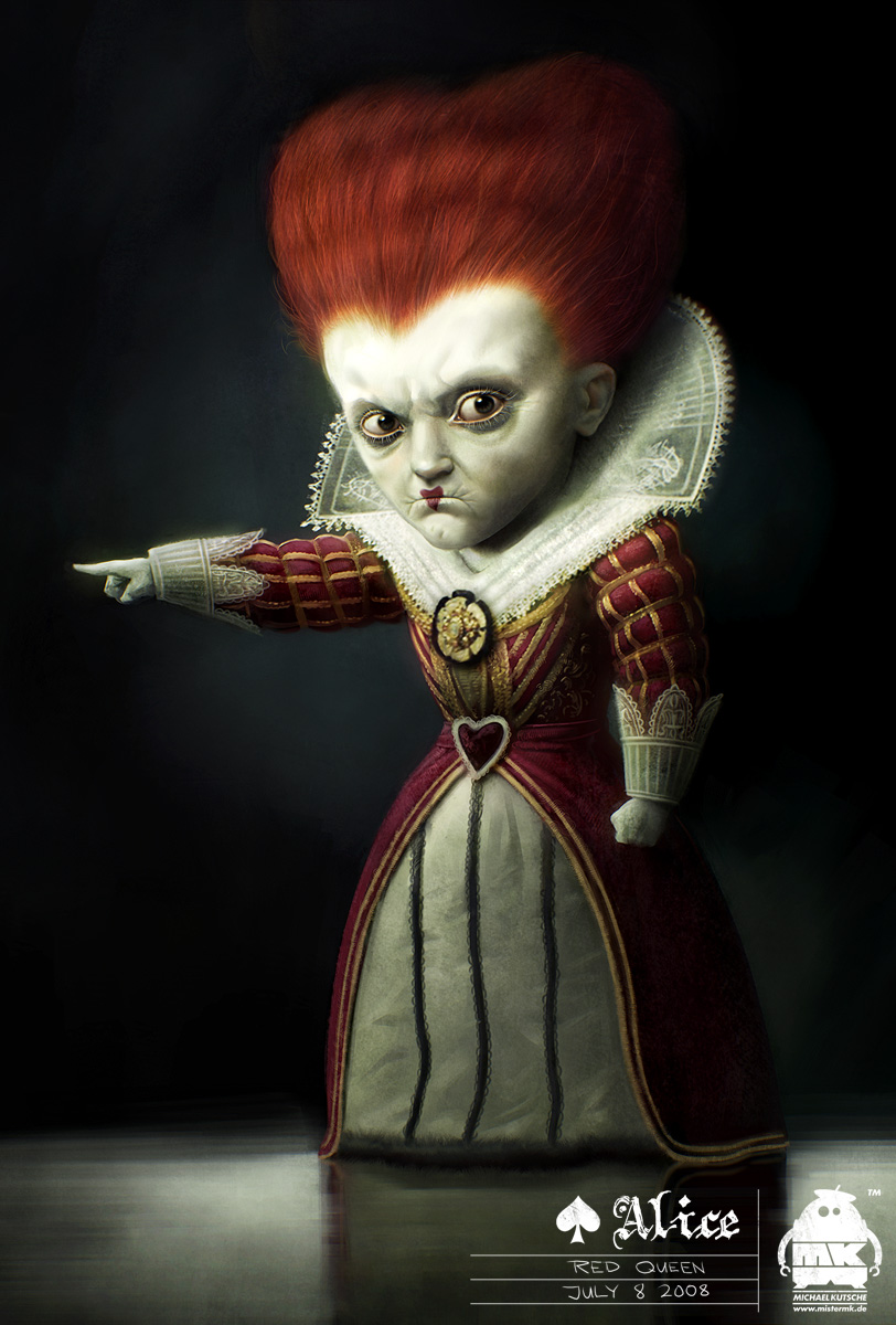 Queen Of Hearts Alice In Wonderland Off With Their Heads Go Ask Alice: Queen of...