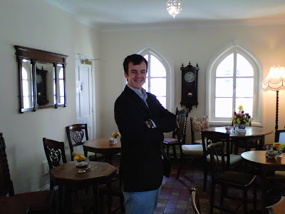 David LeMesurier, proprietor - Pettigrew Tearooms