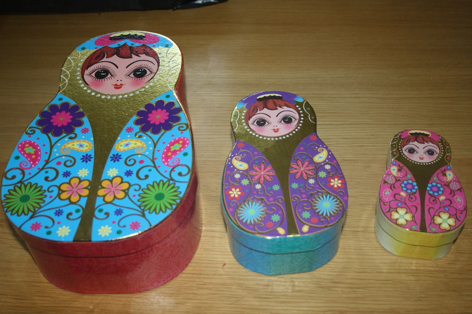 Caroline makes russian doll matryoshka theme party for Best out of waste ideas for class 2