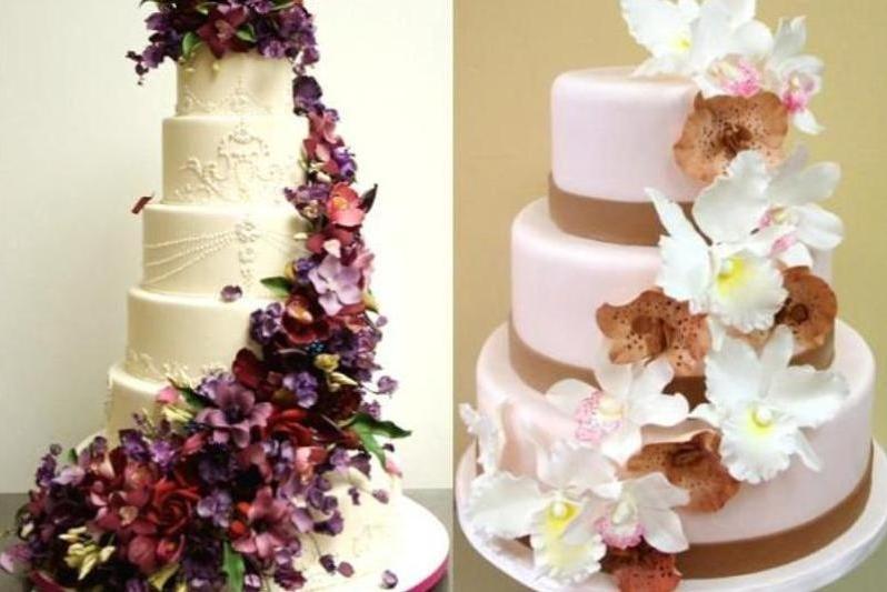 6 Wedding Cake Creations