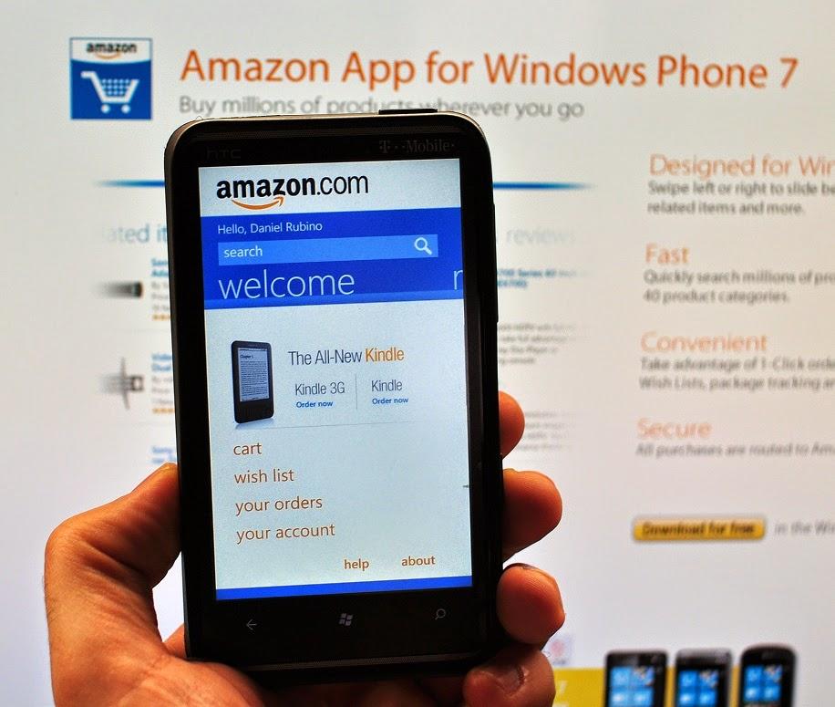 amazon app windows phone