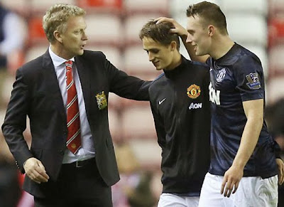 David Moyes+Adnan Januzaj+Phil Jones