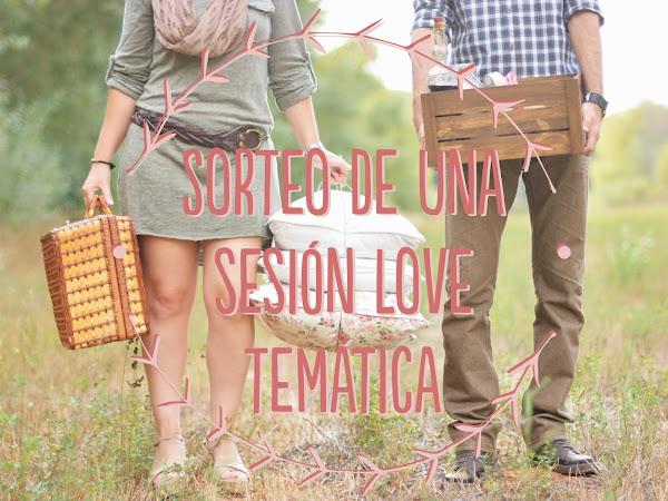 Sorteo Sesión Love con decoración y maquillaje