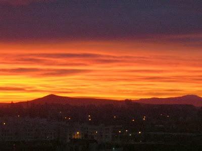 sunrise in Fez