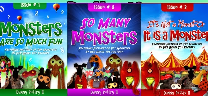 The Monsters are back! Get three new books in this campaign!