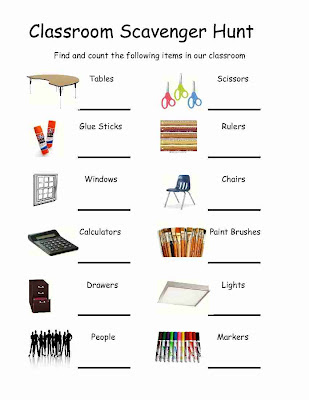 Empowered By Them Classroom Scavenger Hunt