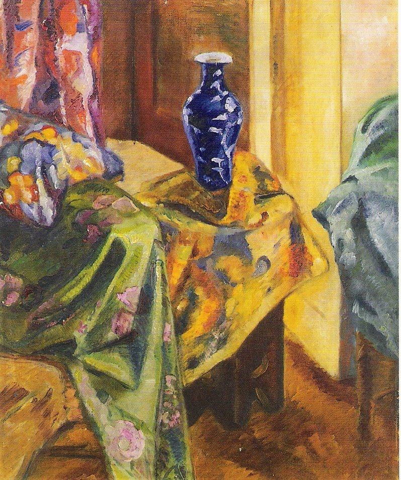 John Tuohys Art For The Blog Of It Czanne The Blue Vase