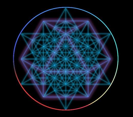 Sacred Geometry Home Decor