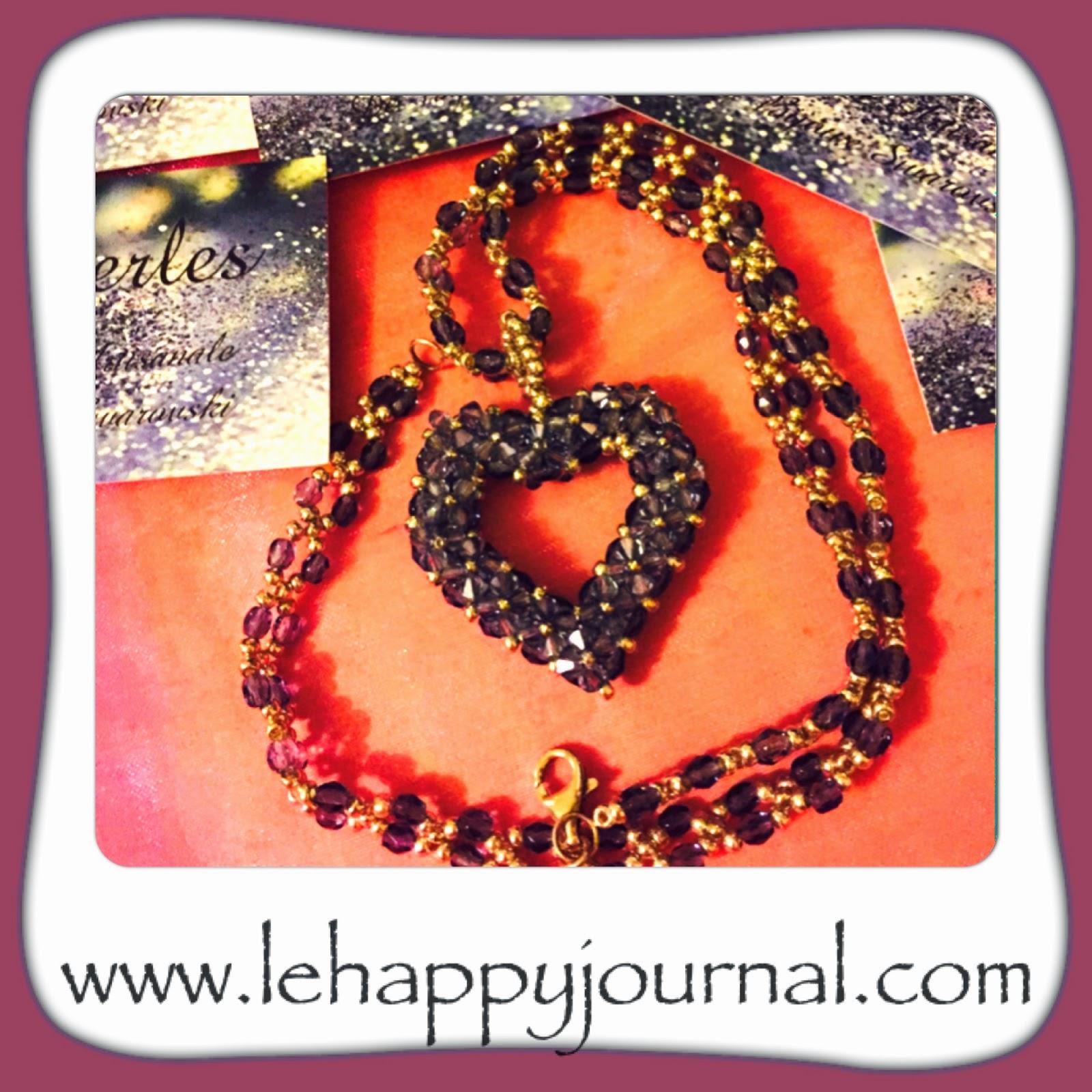 lilyperle, creatrice, bijoux, swarovski, partenaire, alittlemarket, bracelet, collier, boucle d'oreilles, happy journal