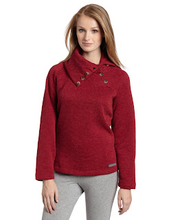 Merrell Women's Dreya Midlayer Wool-Blend Fleece Sweater