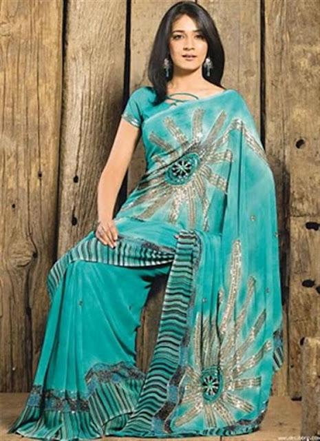 Fashionable Designer Saree Patterns