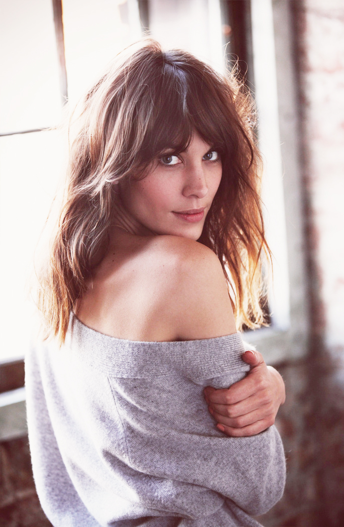 via fashioned by love |  Alexa Chung by Guy Aroch for FRAY I.D. | see Alexa sing for MyTheresa