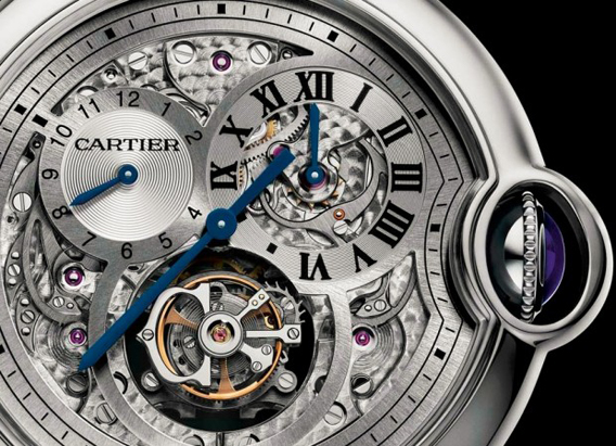 Cartier Ballon Bleu Flying TOurbillon
