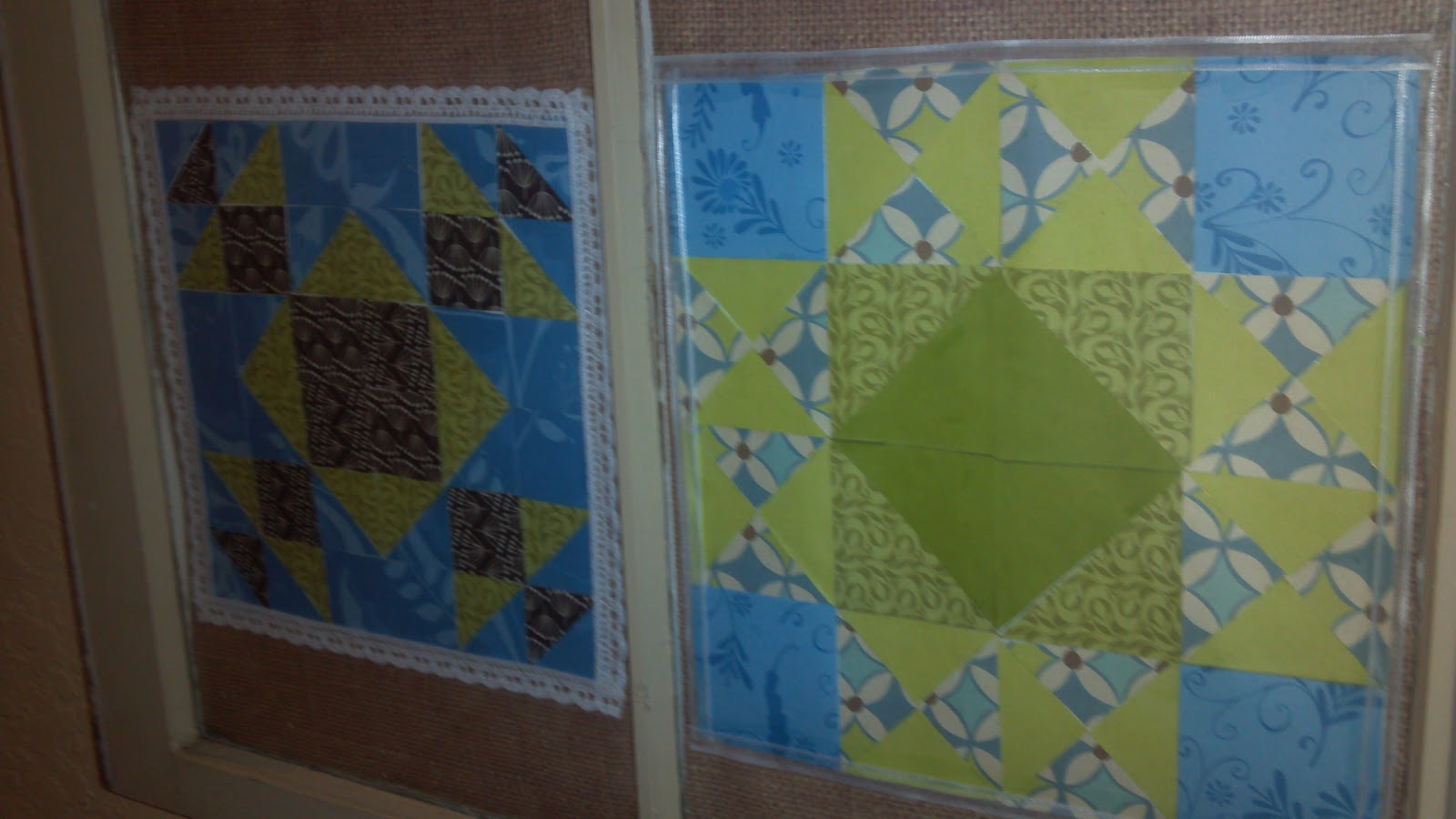 Foyer Window Quilt : Design diva wannabe paper quilt blocks