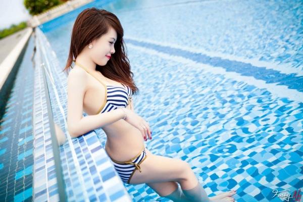 Ảnh gái đẹp HD Ngân Obe Mùa hè nóng bỏng 4