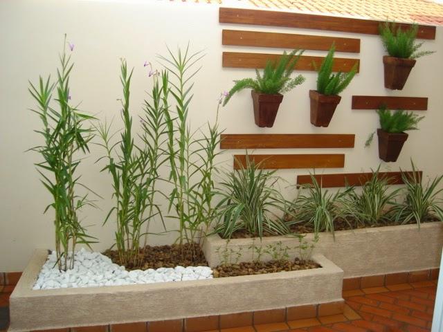 Construindo Minha Casa Clean: Jardins Externos Pequenos em ...