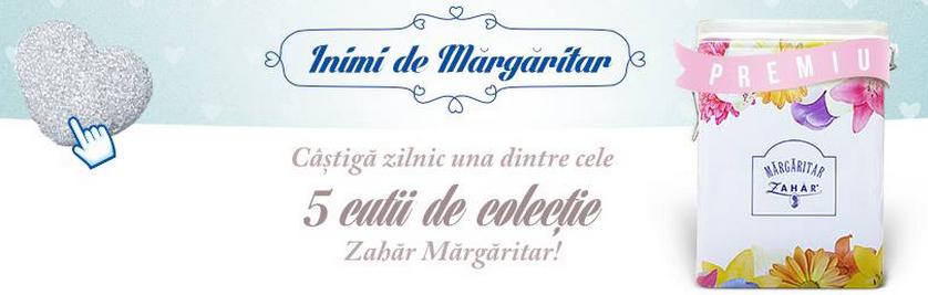 Concurs Zahar Margaritar 2014 - descopera premiile si castiga!