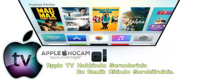 Apple Tv bağlantı ve donma sorunu