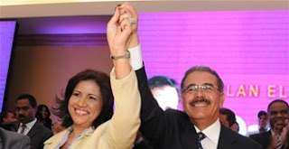 Margarita, candidata a la vice de Danilo Medina