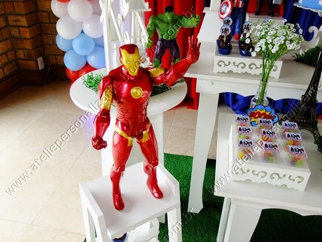 Decoração de aniversário infantil Os Vingadores
