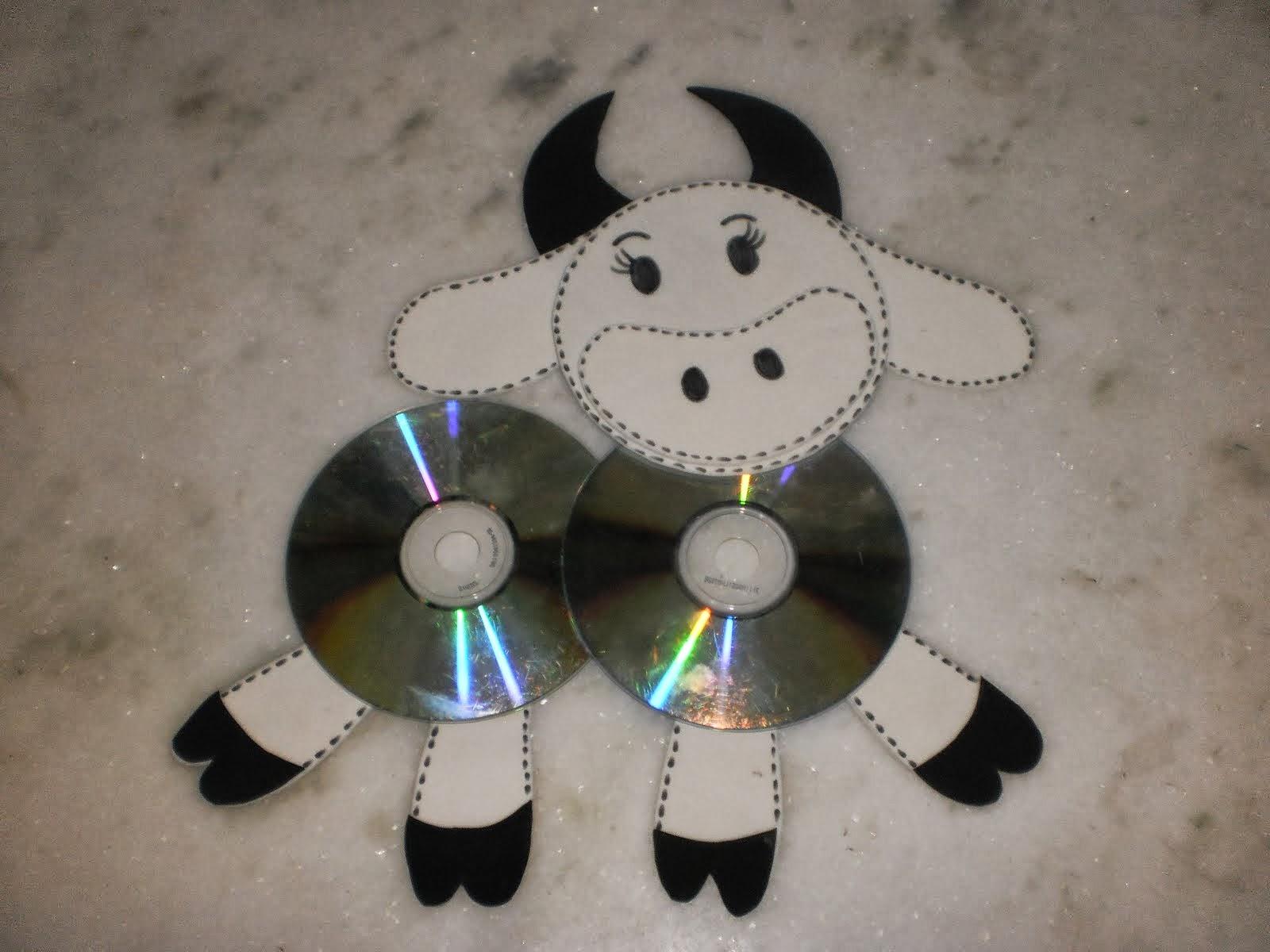 Educar X: Artesanato com CD usado, arte ensino fundamental
