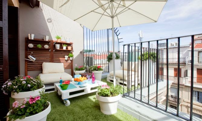 Icono interiorismo 5 ideas para decorar una peque a - Decoracion terraza pequena ...