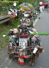 Banyak Aneh Unik Modifikasi Sepeda Motor Paling Unik Aneh Keren