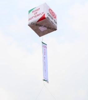Balon Promosi ISPI di Bekasi