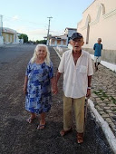 Dona Zefa e Seu Dada moradores de Caiçara do Norte/RN