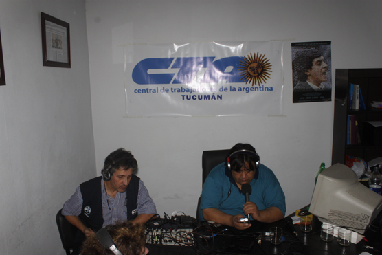 Vigilia y Radio Abierta CTA Tucuman