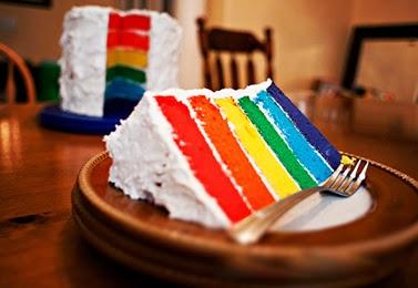 Resep Cara Membuat Rainbow Cake Lembut, Enak dan Lezat