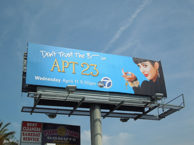 B in Apt 23 billboard