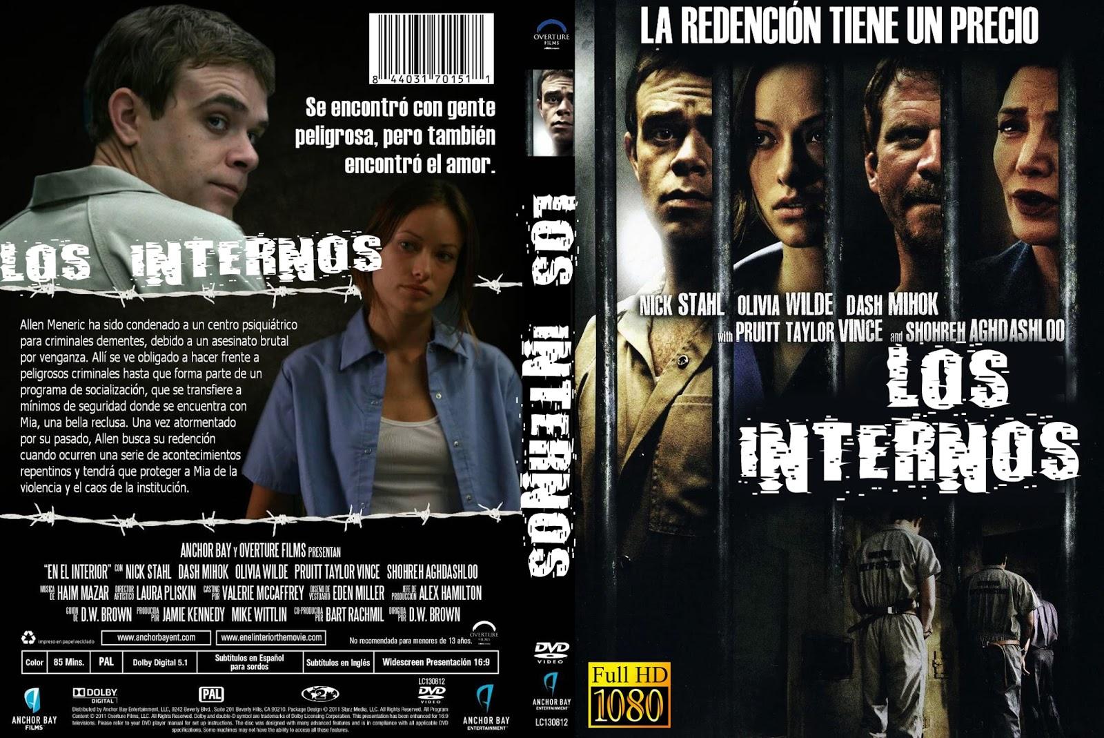 Cover on the inside dvd for Inside 2007 dvd