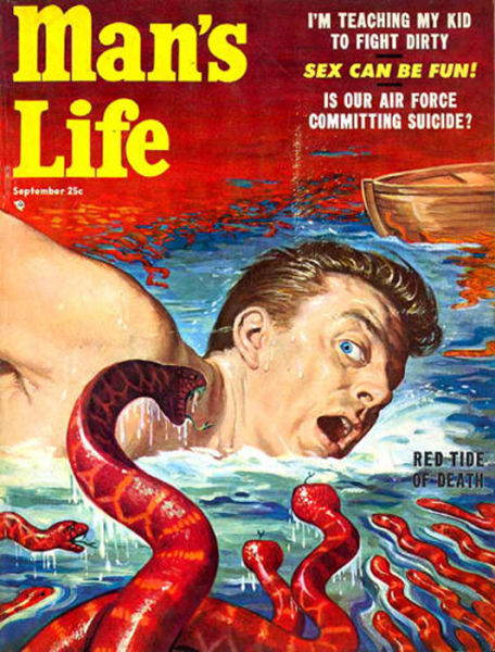 Cool man 39 s life magazine covers circa the 1950s for Old magazines