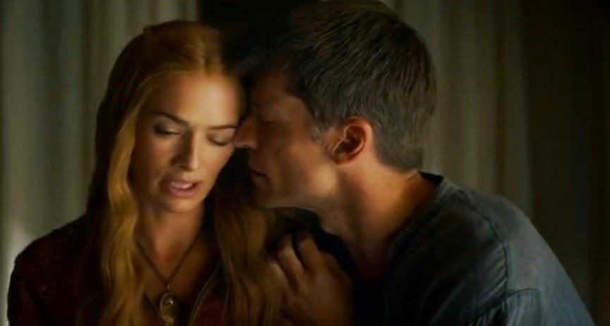 Jaime y Cersei capítulo 4x01 - Juego de Tronos en los siete reinos