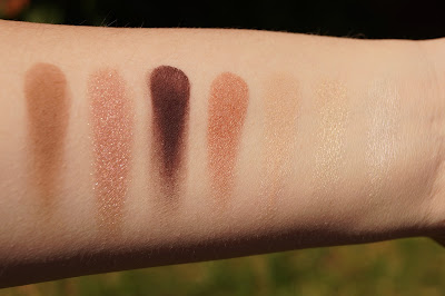Urban Decay x Gwen Stefani Eyeshadow Palette Swatches