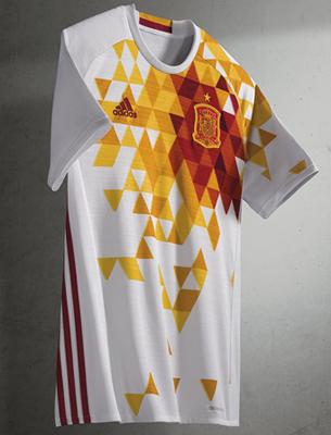 segunda camiseta selección española Eurocopa 2016 replica oficial