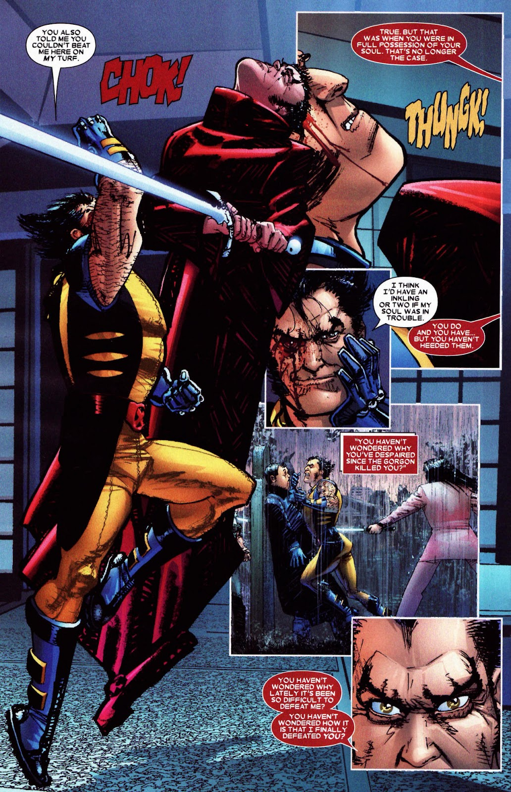 Read online Wolverine (2003) comic -  Issue #61 - 12