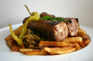 Andouillette Sausage with Fries