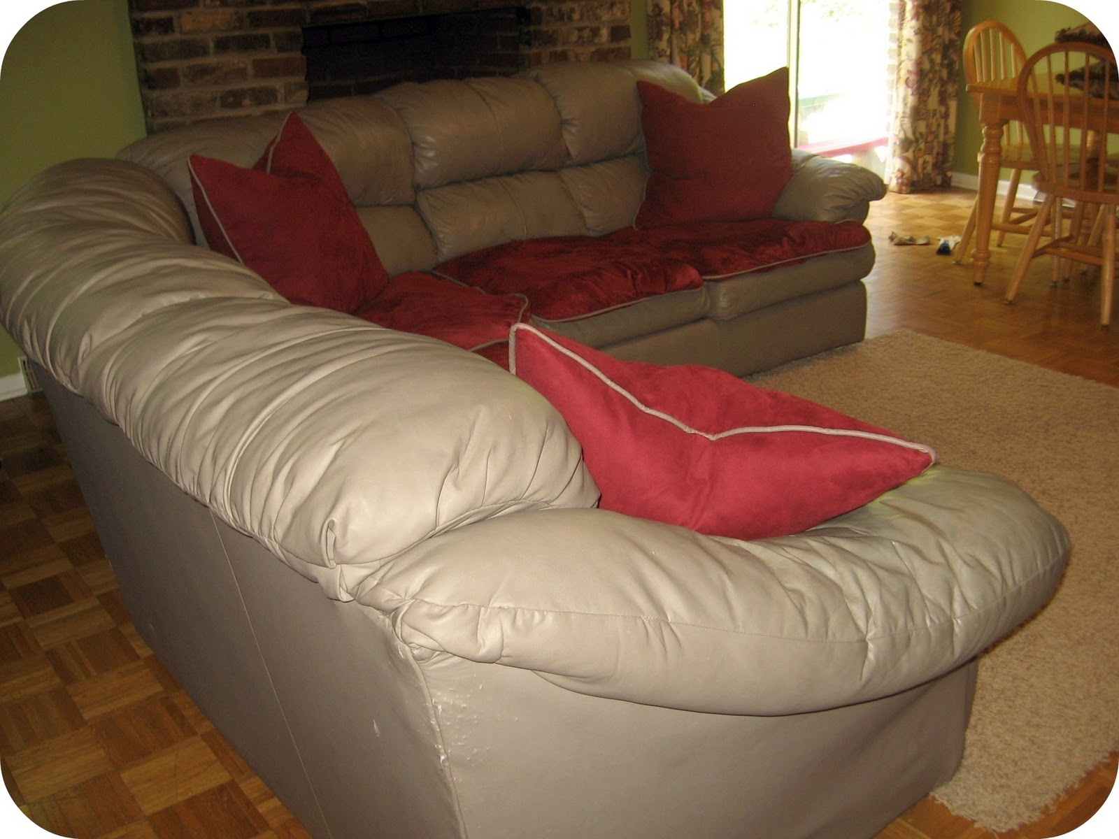 impossible sectional slipcover