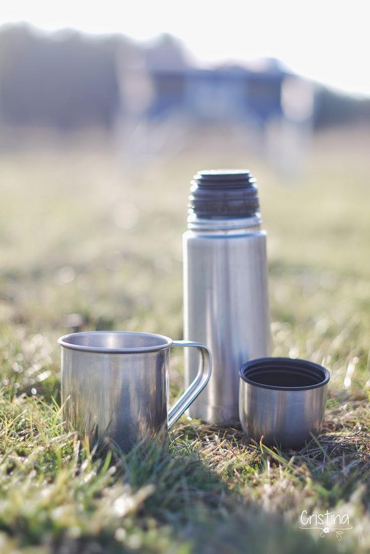 café en el campo