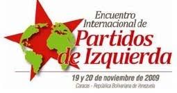 Incontro Internazionale dei Partiti di Sinistra a Caracas