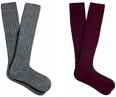 Calcetines lana hombre