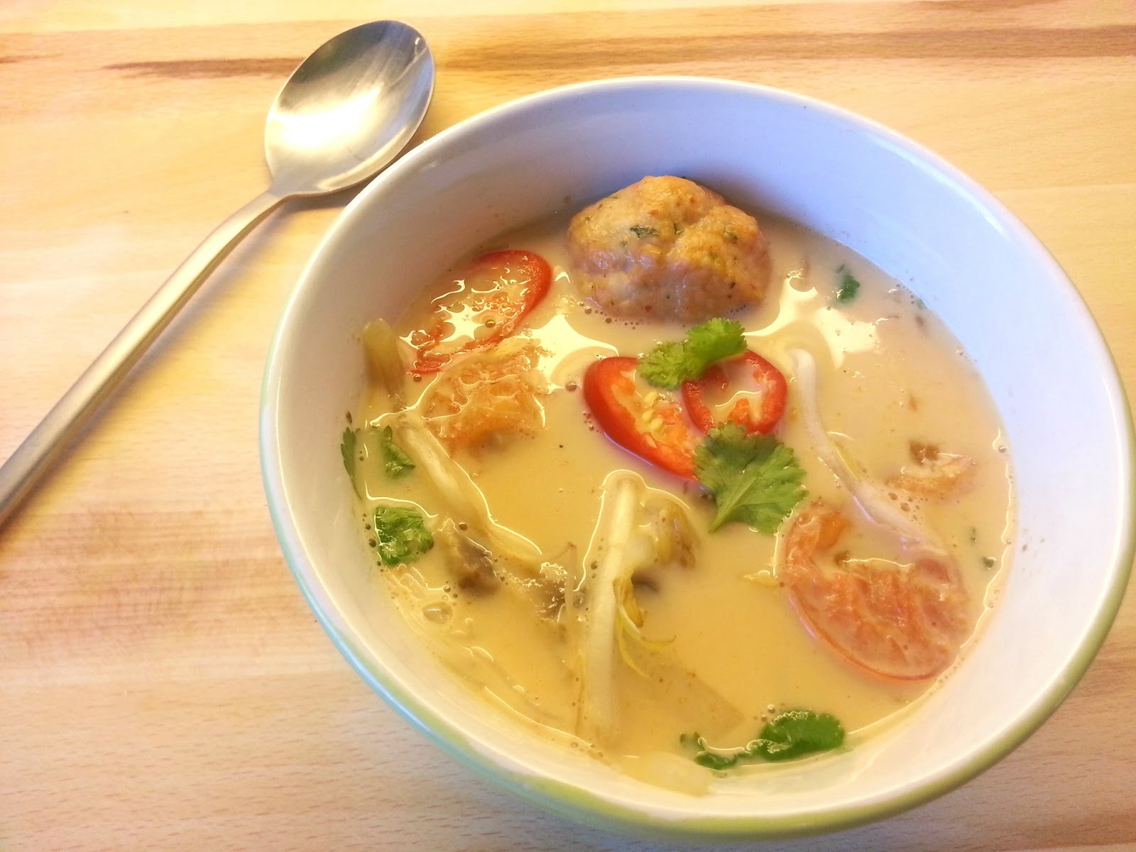 Thai red curry suppe