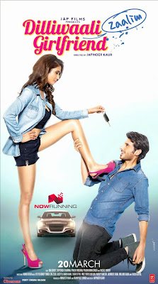 Dilliwaali Zaalim Girlfriend 2015 Hindi 720p  850mb Download Now